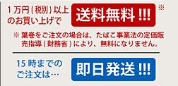 1万円以上のお買い上げで送料無料! 15時までのご注文は、即日配達!